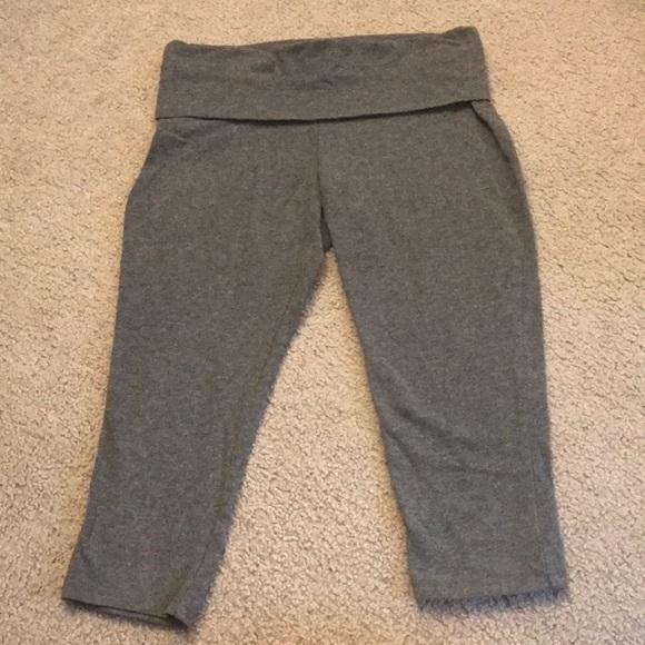 db6f16db0b5 Target brand dark grey yoga cropped pant